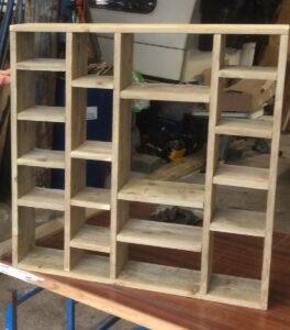 Customer designed shop fitting